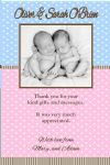 Boy / Girl Thank You Card Design 4